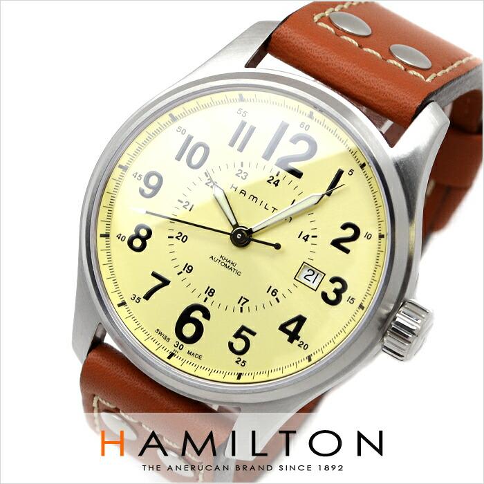 ハミルトン カーキ オフィサーオート H70615523 メンズ