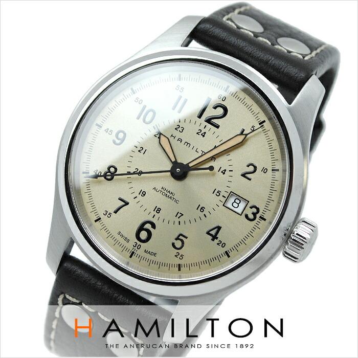 ハミルトン カーキ フィールドオート H70595523 メンズ
