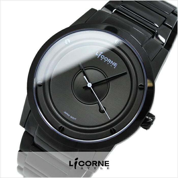 リカーンスタイル 腕時計本舗限定モデル KICOENWA/QWATCH LI027MBBI メンズ