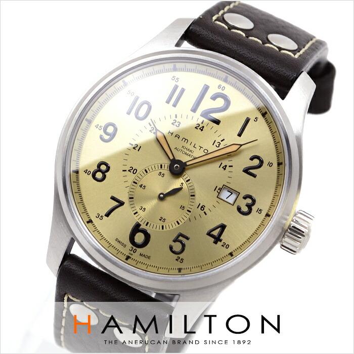 ハミルトン カーキ フィールドオフィサーオート H70655723 メンズ