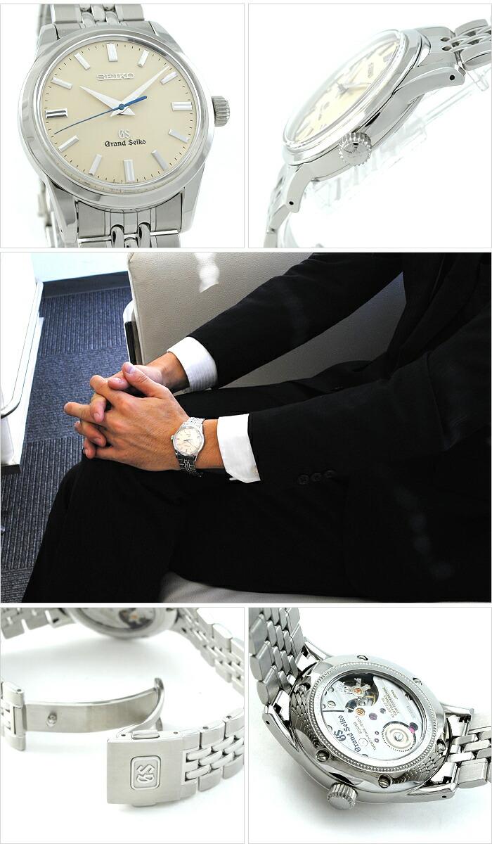 セイコー グランドセイコー 9Sメカニカル 機械式(手巻き) SBGW035 メンズ