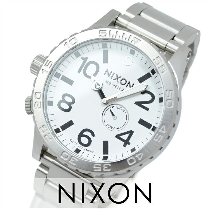 Udedokeihompo  Nixon NIXON THE51-30 A057-100 men s watch watches ... 4e72f82bd92