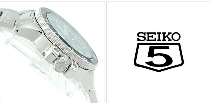 セイコー 逆輸入モデル セイコー5(ファイブ)スポーツ 200m防水 機械式(自動巻き) SKZ209J1(SKZ209JC) メンズ