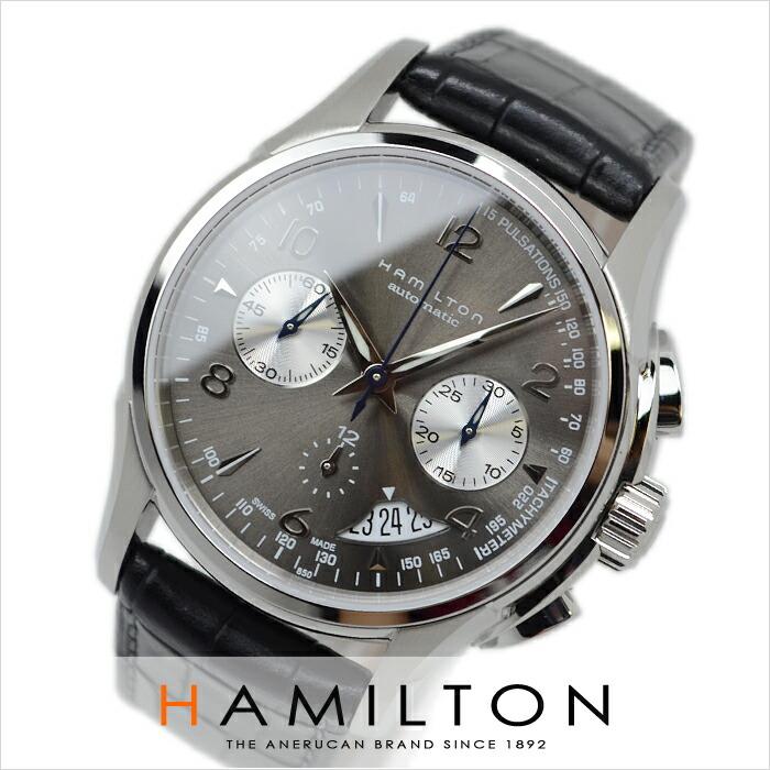 ハミルトン ジャズマスター クロノオート H32656785 メンズ