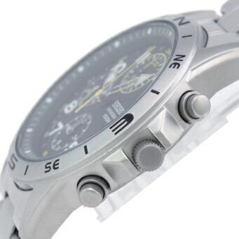 セイコー 逆輸入モデル クロノグラフ 100m防水 SND377P メンズ