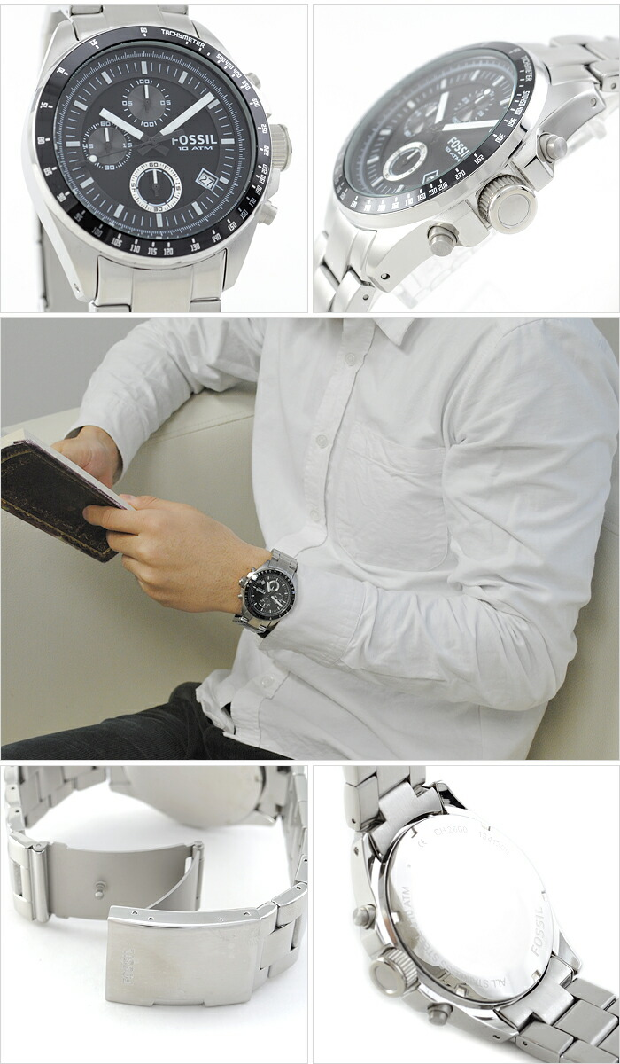 Udedokeihompo Fossil Decker Ch2600 Mens Watch Product Information