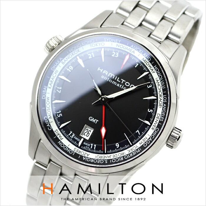 ハミルトン ジャズマスター GMT H32695131 メンズ
