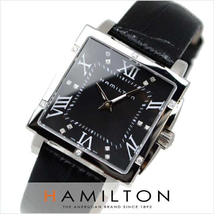 ハミルトン ジャズマスター スクエア H32291794 レディース