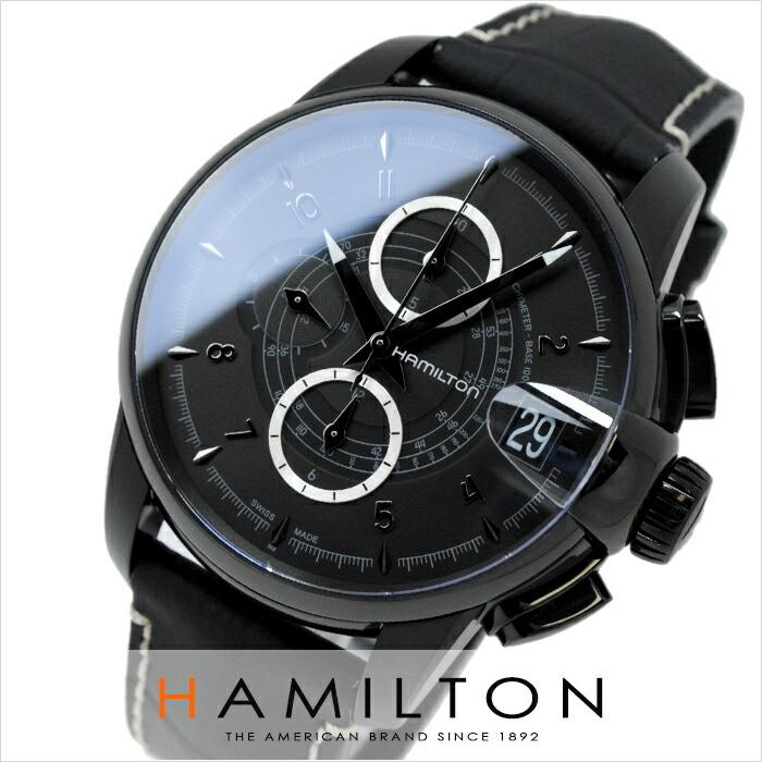 ハミルトン タイムレスクラシック レイルロード クロノグラフ H40686335 メンズ