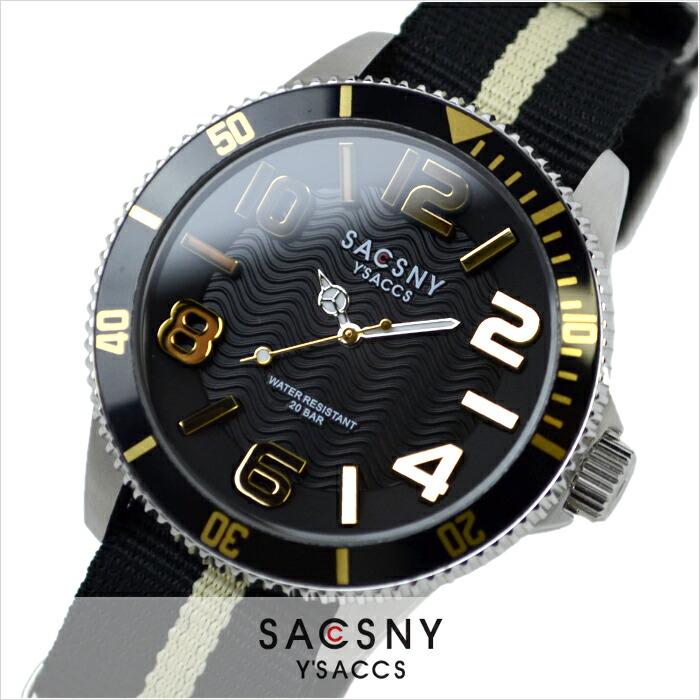 サクスニーイザック  SYA-15105-BKGD メンズ