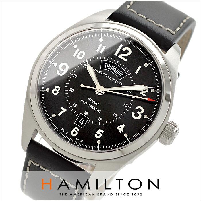 ハミルトン カーキ フィールドデイデイト H70505733 メンズ