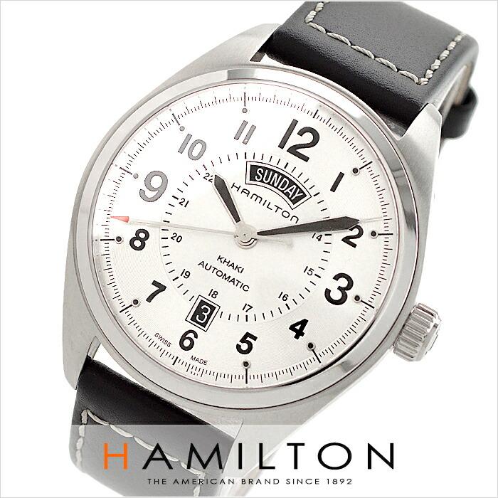ハミルトン カーキ フィールドデイデイト H70505753 メンズ