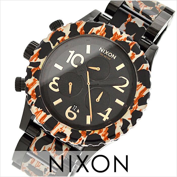 ニクソン THE42-20 クロノグラフ A0371153 ユニセックス