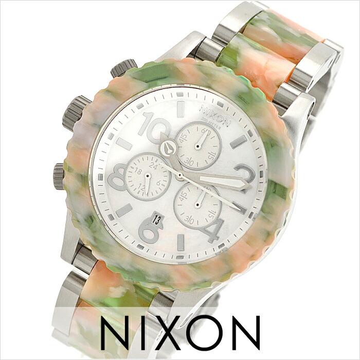 ニクソン THE42-20 クロノグラフ A0371539 レディース