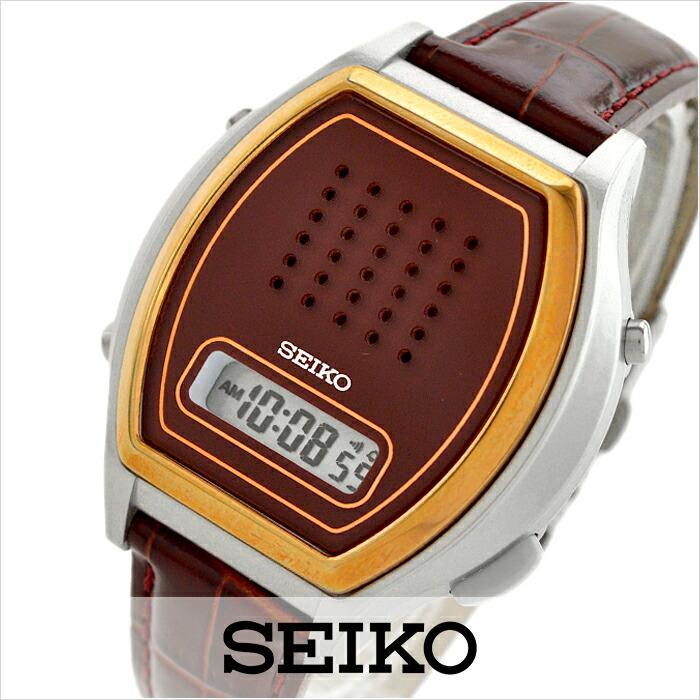 セイコー 音声デジタルウォッチ SBJS010 メンズ