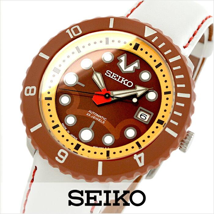 セイコー スピリット スマート鷹の爪コラボ限定 国内300本限定BOX 100m防水 機械式(自動巻き) SCVE017 ユニセックス