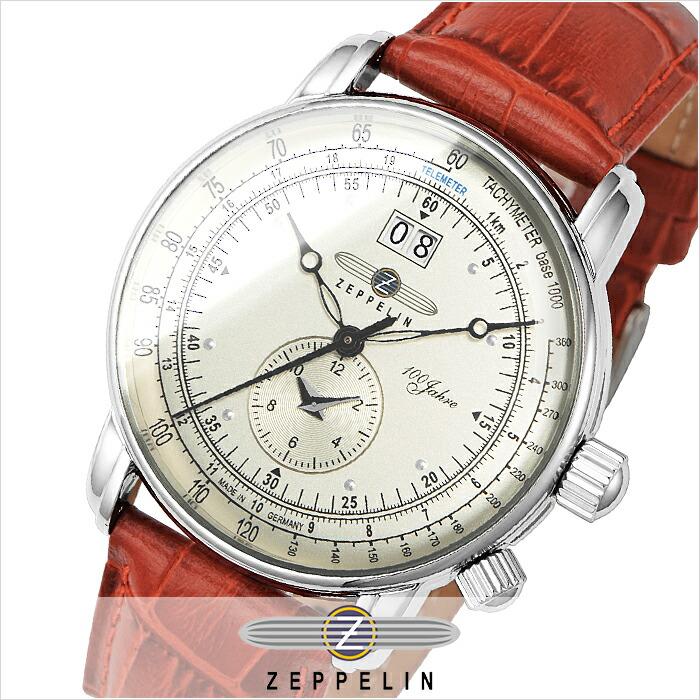 ツェッペリン 100周年記念モデル 76401-BO メンズ