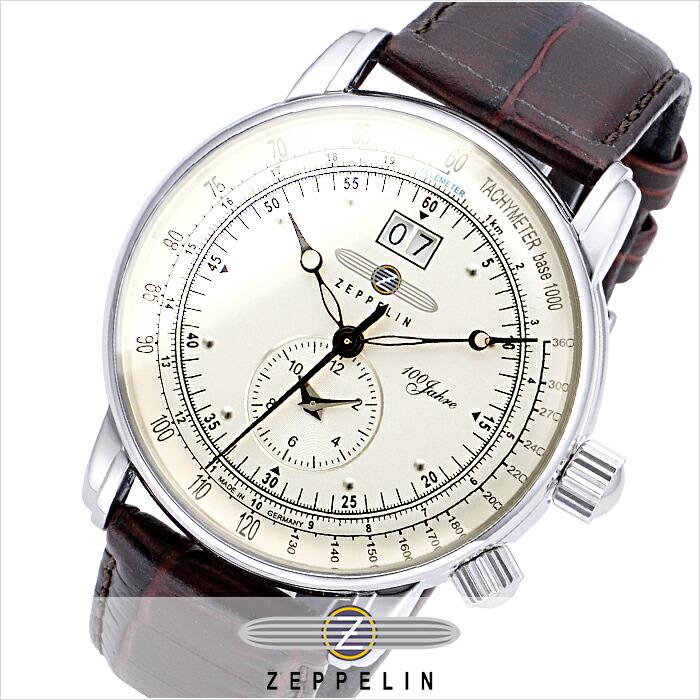 ツェッペリン 100周年記念モデル 76401N メンズ