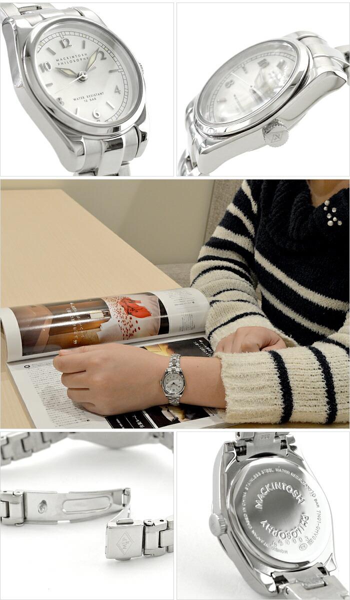 マッキントッシュフィロソフィー ビンテージライン(スモール)  クオーツ ハードレックス 10気圧防水 FDAT985 レディース