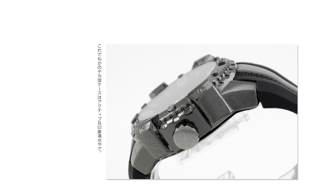 ミーコン ブラック×ブルー B3458-5060 メンズ