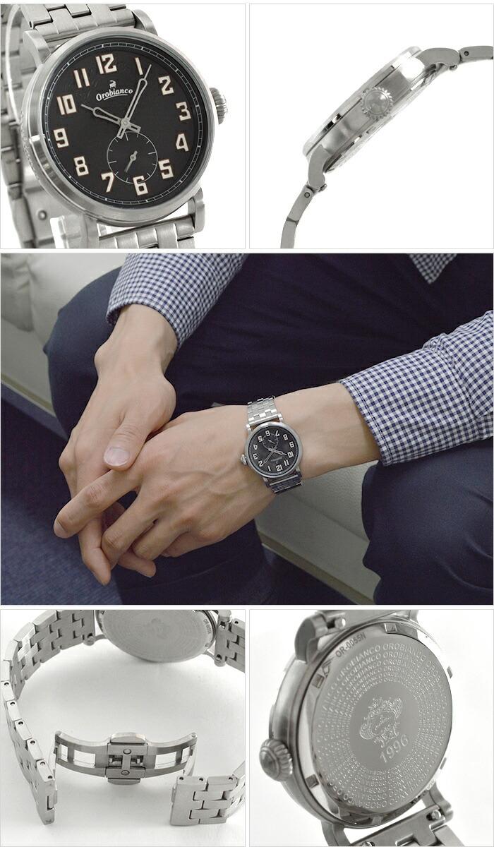 オロビアンコ TIME-ORA タイムオラ メルカンテ 30本限定 メタル OR-0055-0 ユニセックス