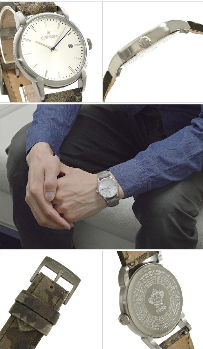 オロビアンコ タイムオラ チントゥリーノ 限定30本カモフラージュベルト付け替えスムースレザーセット 日本製 OR-0058-CA ユニセックス