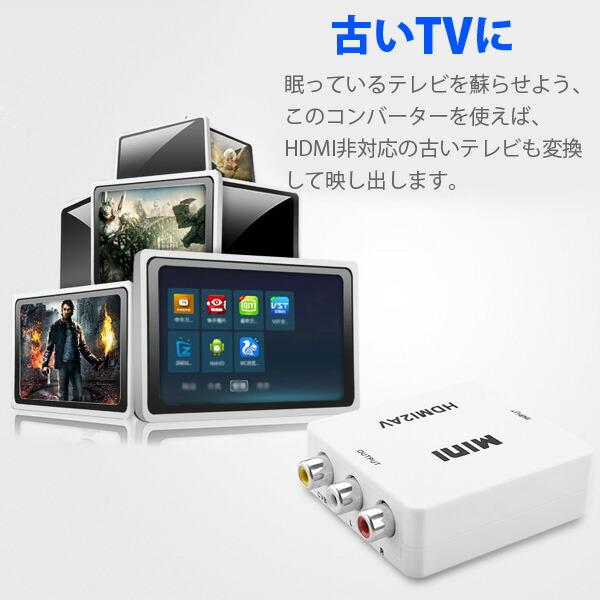 HDMI変換アダプタ