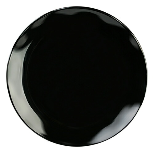 【RF1018B】ラウンドプレート 18インチ ブラック