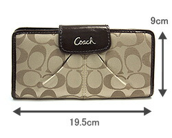 0cf5a143fc1c Option 15  Coach Signature Sateen Wallet Orange F43439 (Sales Price  RM299  Usual Price  RM800)