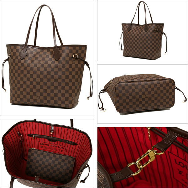 98e507ae22f8a 1andone  Louis Vuitton N41358 LOUIS VUITTON Damier neverfull MM ...