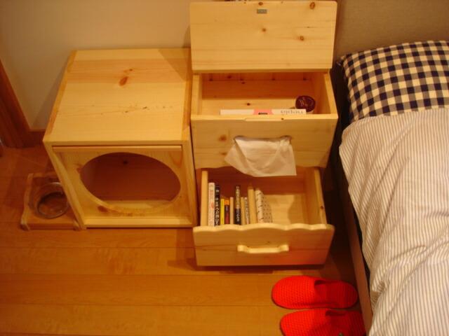 1stdogcafe  라쿠텐 일본: 1stDogCafe 오리지널 원목으로 만든 침대 ...