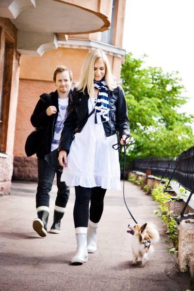 1stdogcafe Finland From Footwear Hai Series Rubber Boots