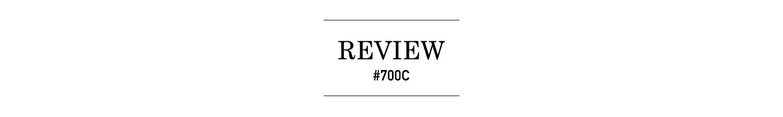 ロードバイク700C レビュータイトル