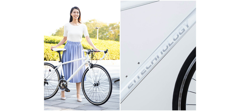 ロードバイク700C イメージホワイト