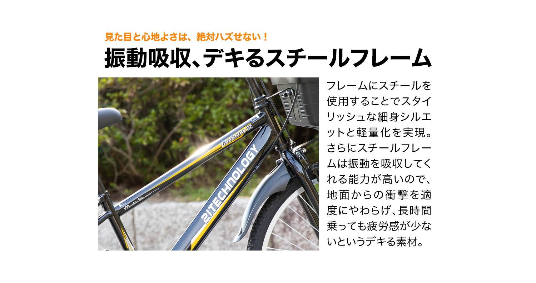 キッズバイク KD246 スチールフレーム