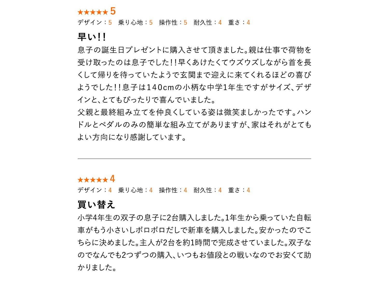 キッズバイク KD246 レビュー