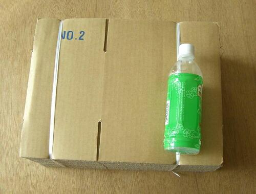 規格ダンボール箱#2サイズ参考