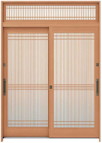 れん樹 A05型 単板ガラス仕様 伝統和風/万本格子