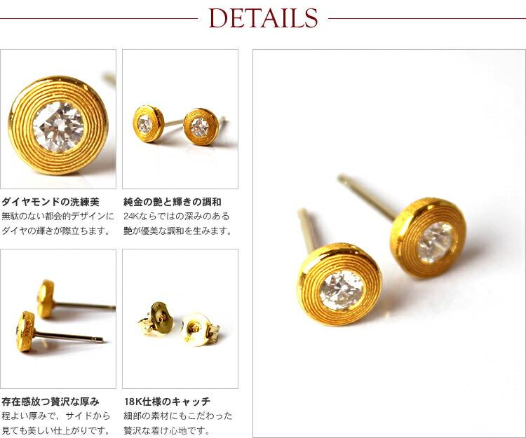 DETAILS - ダイヤモンドの洗練美