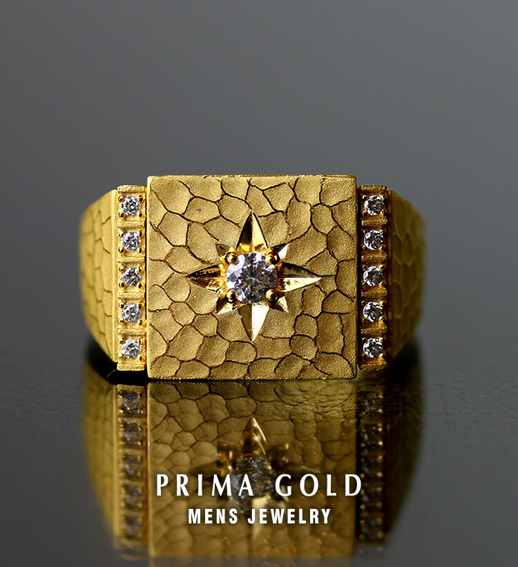 24K PRIMA GOLD - 24金 純金 メンズジュエリー