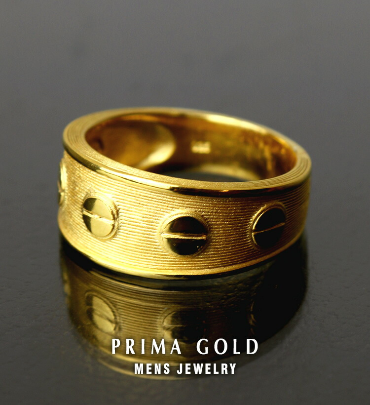 24k Prima Gold 純金メンズジュエリー 24金ゴールド