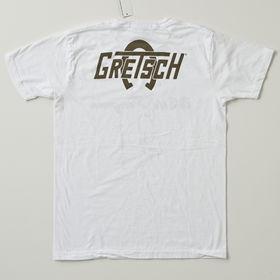 グレッチ ホワイトペンギンロゴTシャツ ホワイト バックプリント