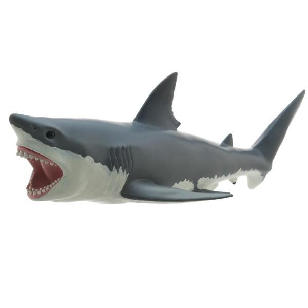 マリンライフ ビニールモデル ホホジロザメ