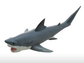 マリンライフ ビニールモデル ホホジロザメ上