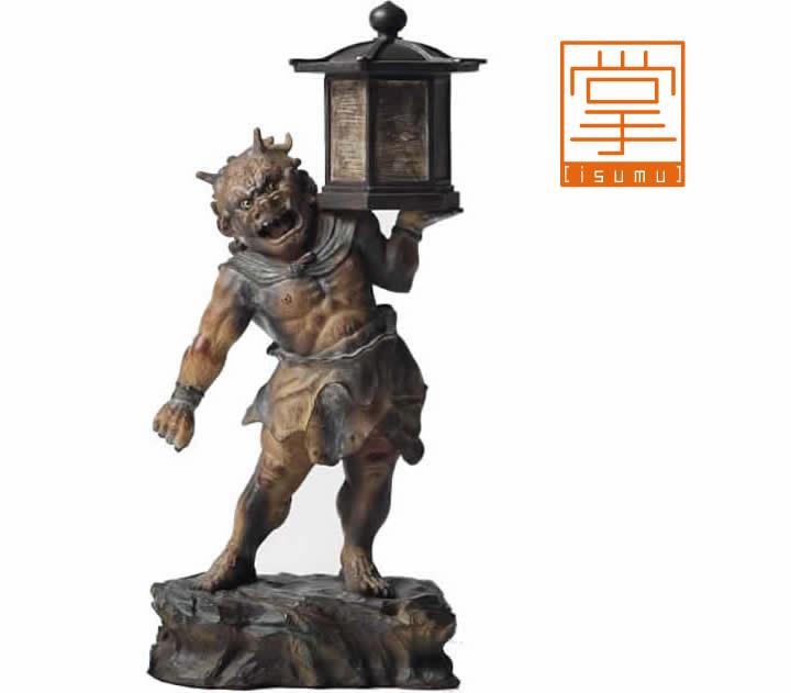 イSム仏像・天燈鬼( てんとうき ) / いすむ
