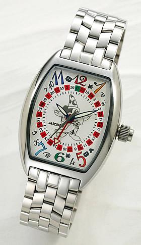 ミッキーマウス ファンタジア上映66周年記念時計 ホワイト