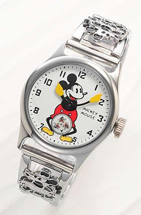 ミッキーマウス ファーストモデル1933年復刻時計