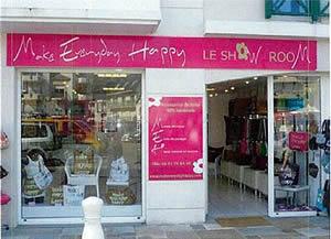 フランスにあるMake Everyday Happy直営店