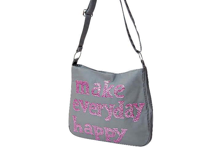 Make Everyday Happy ラ・ブザス ショルダーバッグ