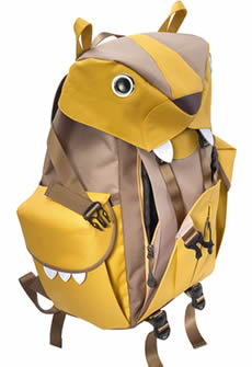 Front part of Mohn creation BC-101 big cat backpack L pocket